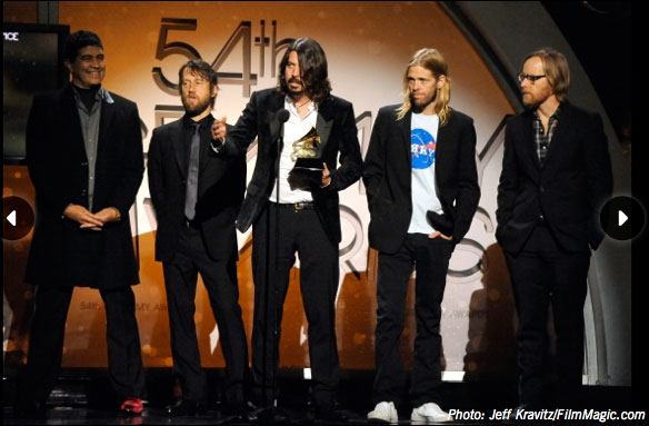 foo fighters grammys 2012