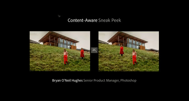 photoshop cs6 content aware demonstration video