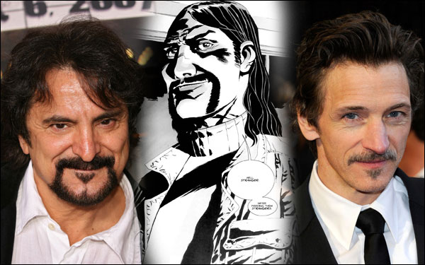 tom savini john hawkes the governor the walking dead season 3
