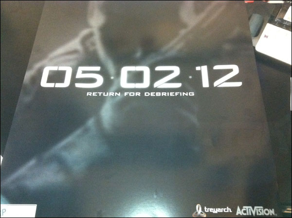 call of duty black ops 2 announcement poster