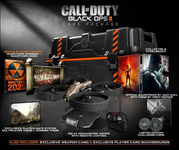 black ops 2 care package edition call of duty treyarch
