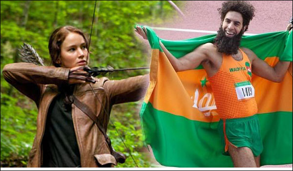 movies that fell flat the dictator the hunger games