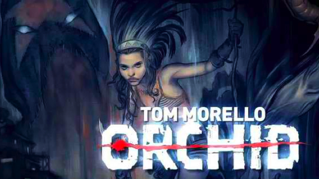 tom morello orchid comic book