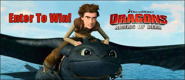 dragons riders of berk season 1 dvd giveaway