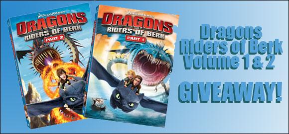 dragons riders of berk giveaway