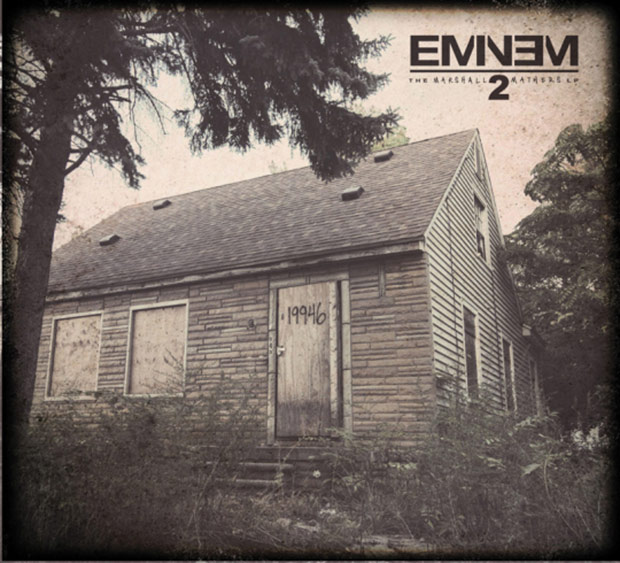 the marshall mathers lp 2 cover art eminem