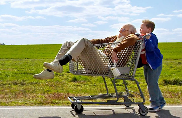 jackass presents bad grandpa review