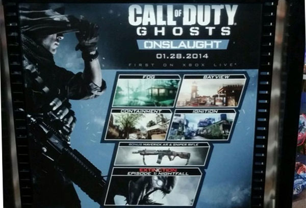 cod ghosts map pack dlc onslaught