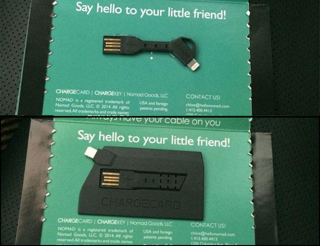 nomad chargekey chargecard package
