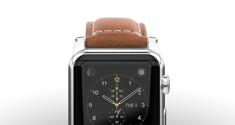 nomad apple watch leather strap