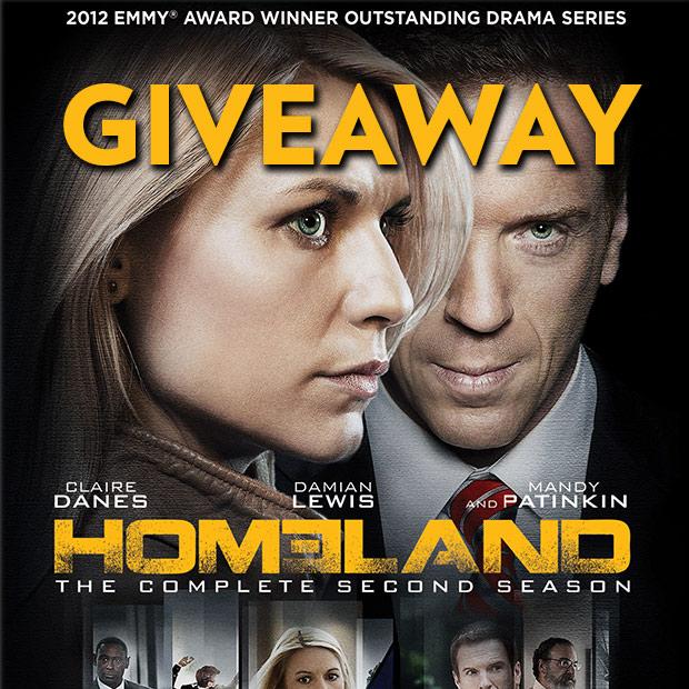 homeland season 2 blu-ray giveaway